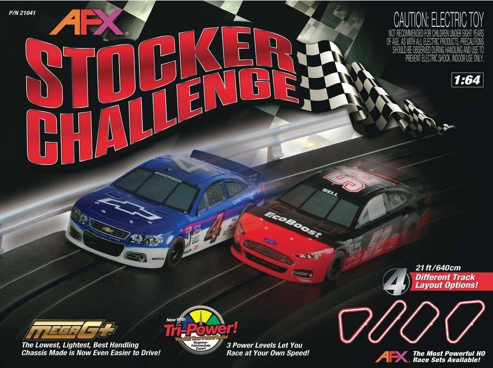 AFX Stocker Challenge Set Only Cars (Set of 2)