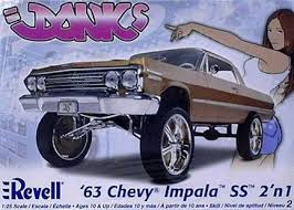 '63 Chevy Impala SS 2 'n 1 1/25 Plastic Model Kit