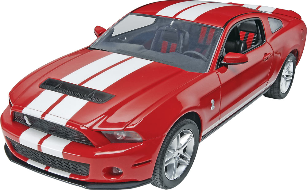 '10 Ford Shelby GT500 1/25 Model Kit