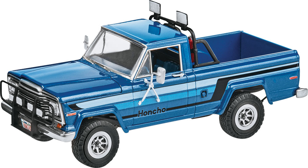 "'80 Jeep Honcho ""Ice Patrol"" 1/25 Plastic Model Kit"