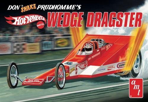 "Coca Cola Don ""Snake"" Prudhomme Wedge Dragster 1:25 Model Kit"