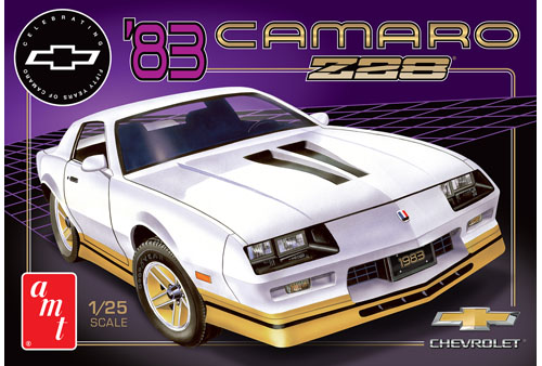 '83 Chevy Camaro Z28 1:25 Plastic Model Kit