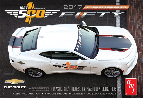 2017 Chevy Camaro FIFTY Pace Car 1:25 Scale Model Kit