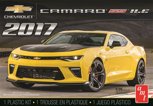 2017 Chevy Camaro SS1LE 1:25 Plastic Model Kit