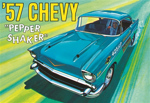 1957 Chevy Pepper Shaker 1:25 Plastic Model Kit