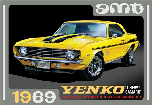 1969 Chevy Camaro (Yenko) 1:25 Scale Model Kit