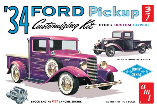 1934 Ford Pickup 1:25 Plastic Model Kit