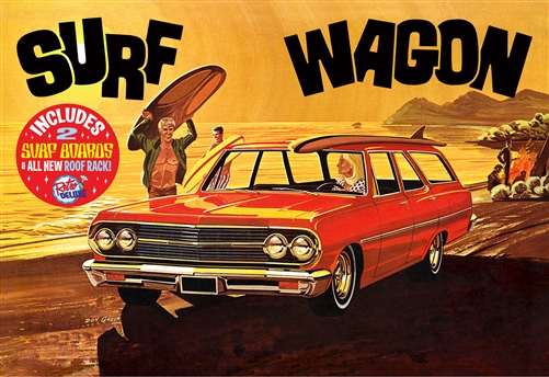 "1965 Chevelle ""Surf Wagon"" 1:25 Scale Model Kit"