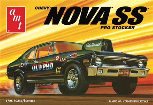 1972 Chevy Nova SS Old Pro 2T 1:25 Plastic Model Kit
