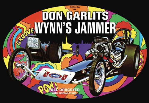 Don Garlits Wynns Jammer Dragster 1:25 Scale Model Kit