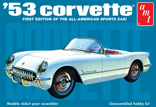 '53 Chevy Corvette 1:25 Model Kit