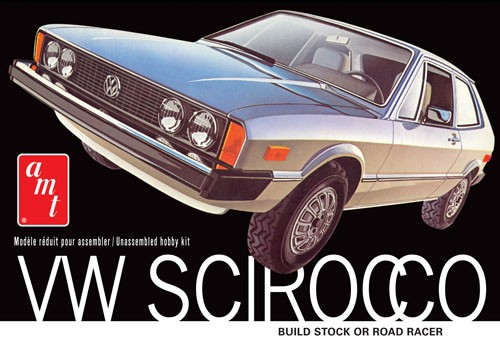 '78 Volkswagen Scirocco 1:25 Model Kit