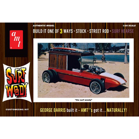 George Barris Surf Woody (Color Version) 1:25 Model Kit