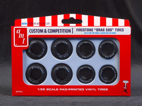 1/25 Firestone Drag 500 Tire Set
