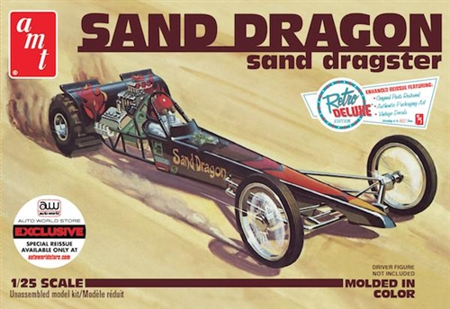 Sand Dragon Sand Dragster (Auto World Exclusive) 1:25 Scale Model Kit