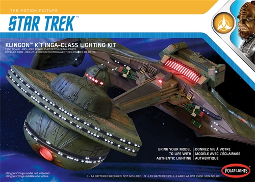 Star Trek Klingon K't'inga Lighting Kit