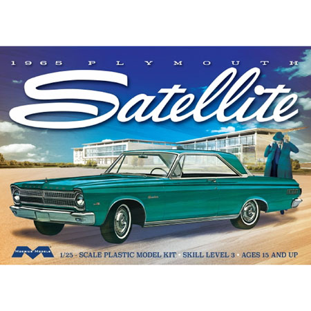 1965 Plymouth Satellite 1:25 Plastic Model Kit