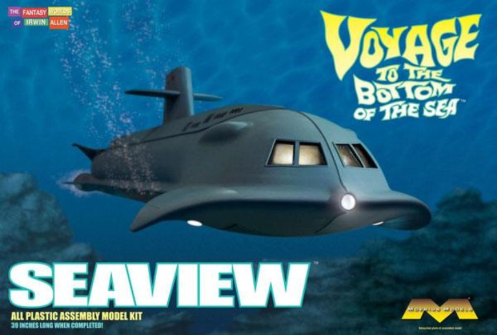 Voyage to the Bottom of the Sea Seaview 1:128 Model Kit