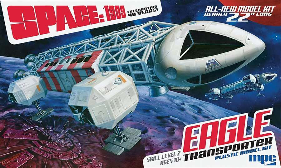 Space 1999: Eagle Transporter 1/48 Model Kit