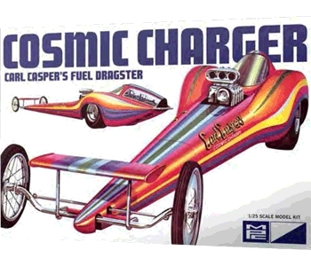 Cosmic Charger Carl Casper 1:25 Scale Model Kit