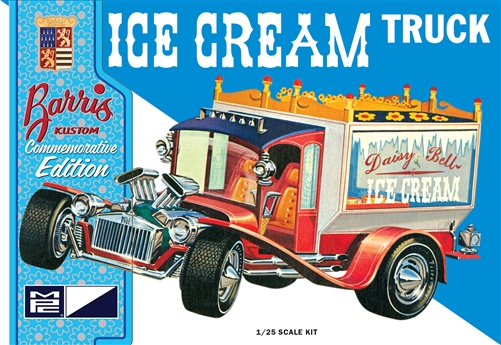 Ice Cream Truck (George Barris) 1:25 Plastic Model Kit