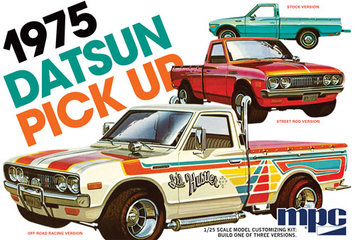 1975 Datsun Pickup 1:25 Plastic Model Kit
