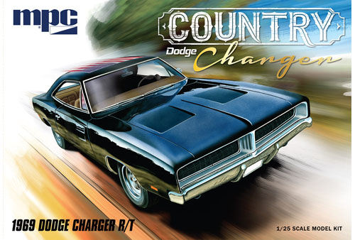 "1969 Dodge ""Country Charger"" R/T 1:24 Plastic Model Kit"