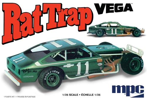 Rat Trap Chevy Vega Modified 1:25 Plastic Model Kit