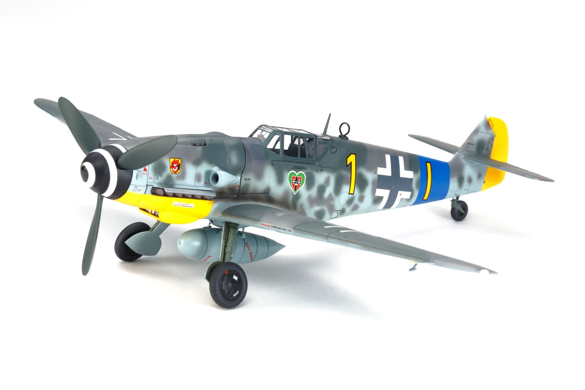 Messerschmitt Bf 109 G-6 1/48 Plastic Model Kit