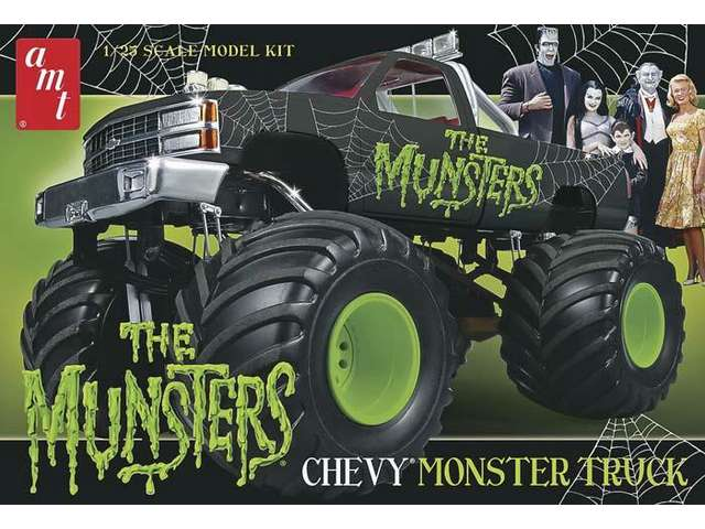 "Chevy ""Munster Truck"" 1/25 Model Kit"