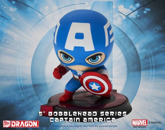 "Hero Remix 5"" Bobblehead Series - Age of Ultron - Captain America"