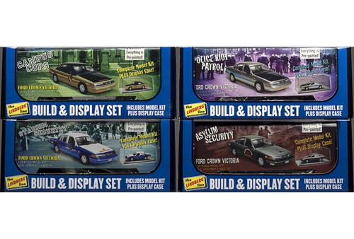 Build & Display Security Car (Crown Victoria) 1/25 Plastic Model Kit
