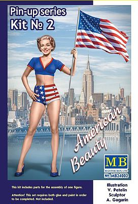 American Beauty Pin-Up Series #2 1:24 Plastic Model Kit