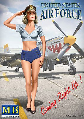 Patty US Air Force Pin-Up Series #5 1:24 Plastic Model Kit