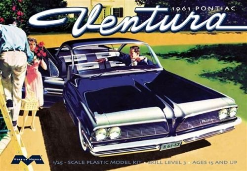 '61 Pontiac Ventura SD 1:25 Plastic Model Kit