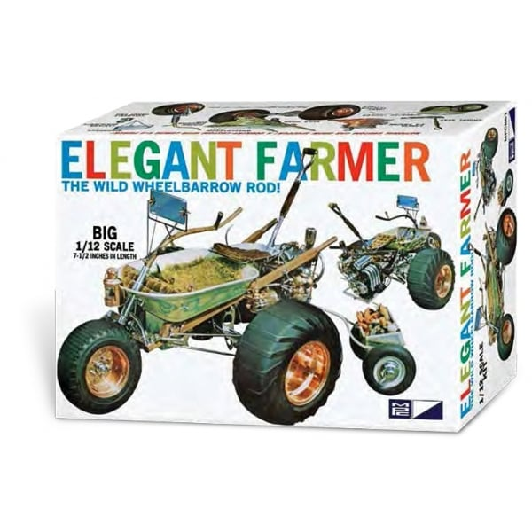 'Elegant Farmer' Wheelbarrow Rod - Special Edition - 1:12 Plastic Model Kit