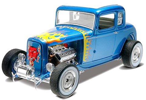 '32 Ford 5 Window Coupe 1/25 Plastic Model Kit