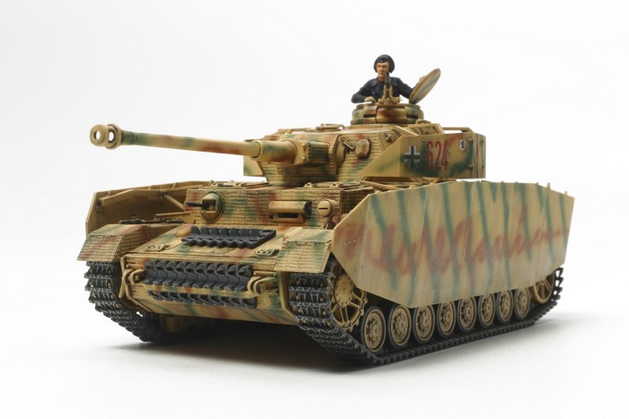 German Panzer IV Ausf.H - Late Production 1/48 Model Kit