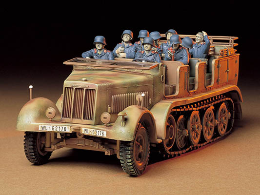 German 8T Semi Track SdKfz 7 - CA248 1/35 Plastic Model Kit
