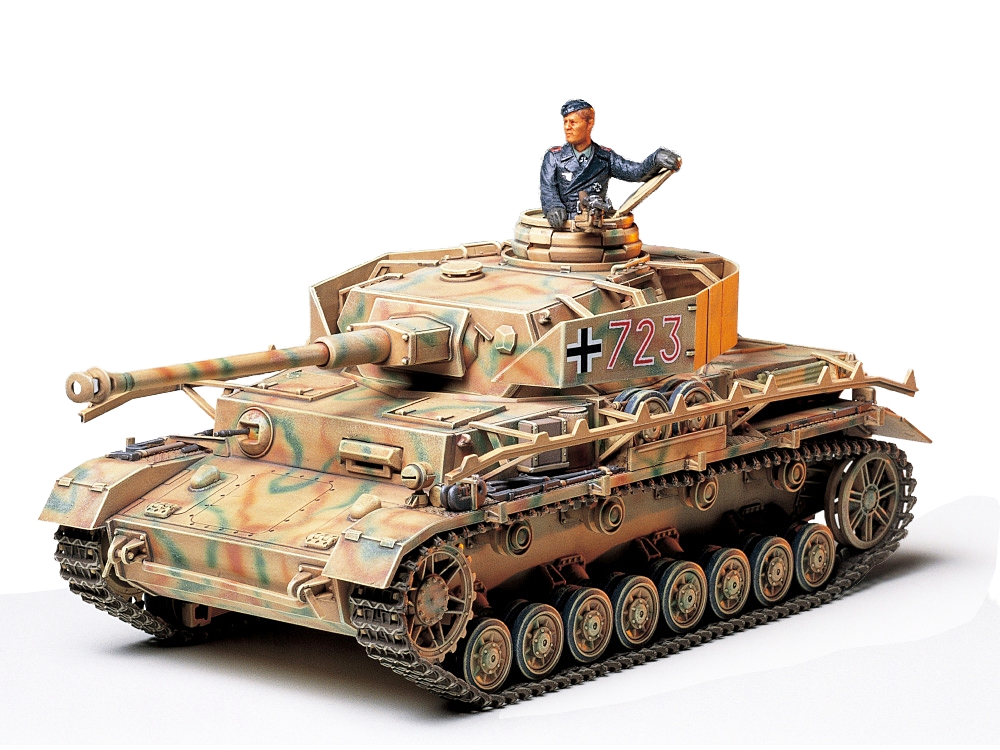 German Panzer IV Type J 1/35 Plastic Model Kit
