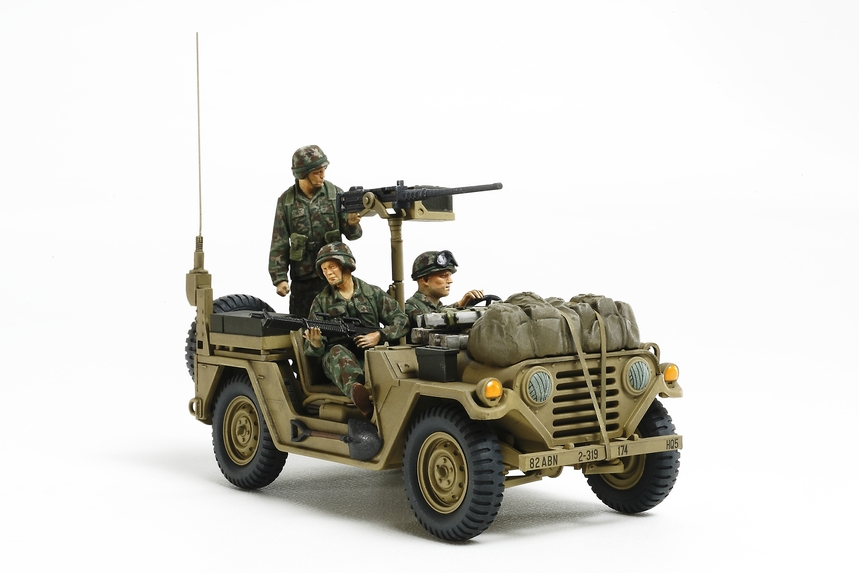 "Us Utility Truck M151A2 ""Grenada 1983"" 1/35 Plastic Model Kit"