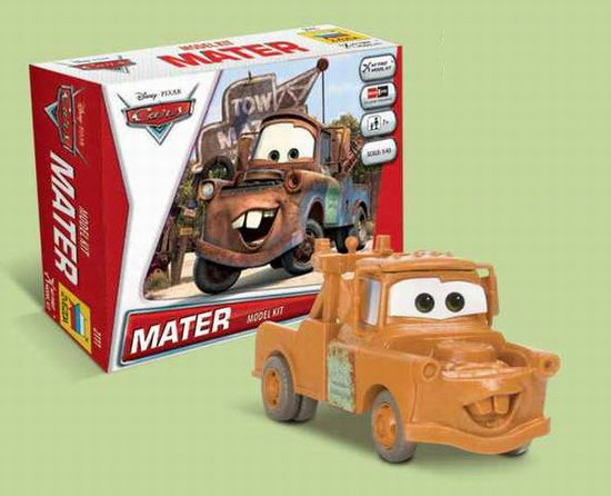"""Mater"" Disney Pixar ""Cars/Cars2"" 1/43 Snap Model Kit"