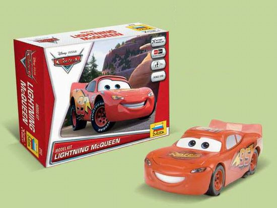 """Lightning McQueen"" Disney Pixar ""Cars/Cars2"" 1/43 Snap Model Ki"