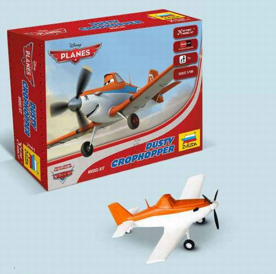 """Dusty Crophopper"" Disney Pixar ""Planes"" 1/100 Snap Model Kit"