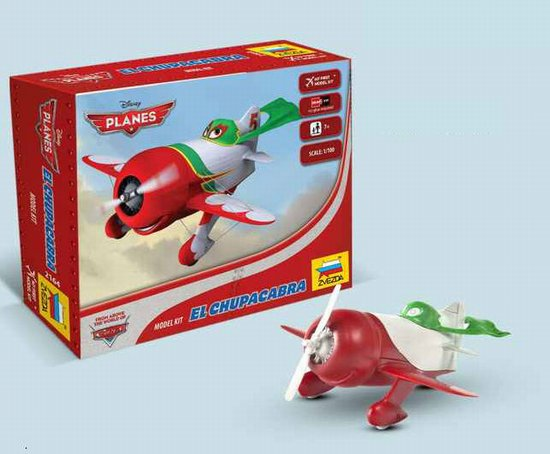 """El Chupacabra"" Disney Pixar ""Planes"" 1/100 Snap Model Kit"