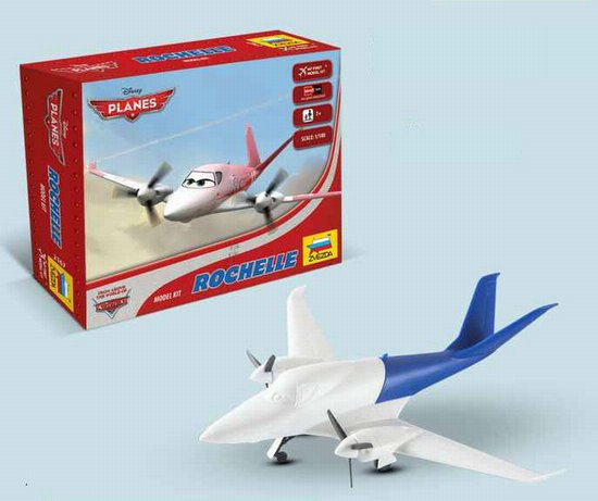 """Rochelle"" Disney Pixar ""Planes"" 1/100 Snap Model Kit"