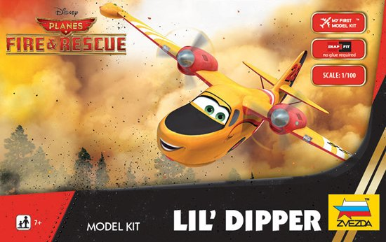 """Lil' Dipper"" Disney Pixar ""Planes 2"" 1/100 Snap Model Kit"