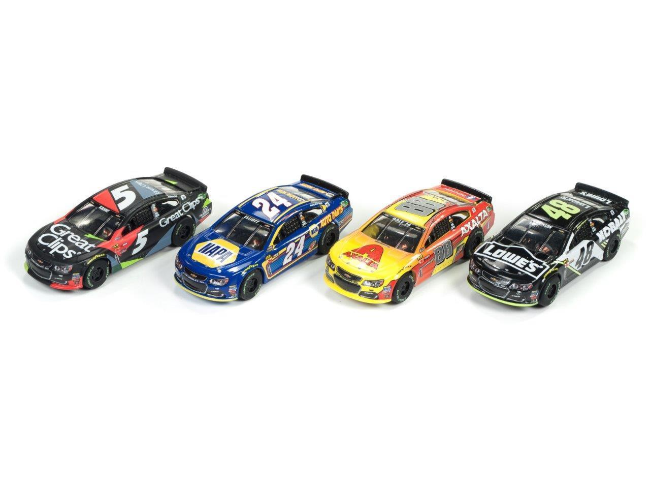 Super III NASCAR Rel 2 4-Car Set
