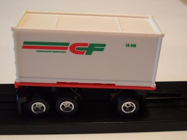 """Consolidated Freight"" Pup Trailer"