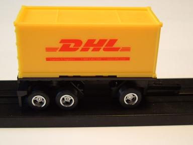 """DHL"" Pup Trailer"